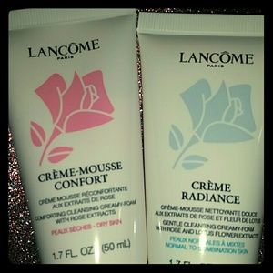 Lancome Other - Lancome Creme Radiance & Creme Mousse Cleansers